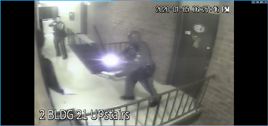 Surveillance video still frame